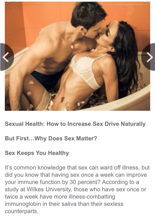 how to raise sex drive