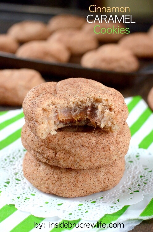 ✨Delicious Cinnamon Caramel Cookies✨😍👍#tipit