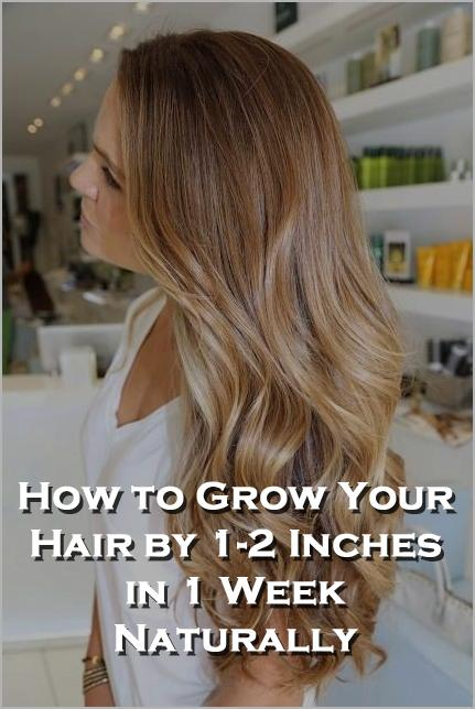 How To Help Your Hair Grow Faster And Longer Naturally