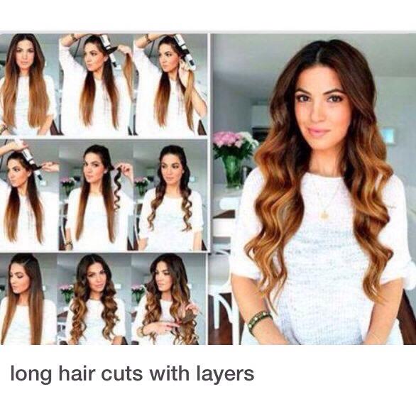Как сделать укладка на длинные волосы