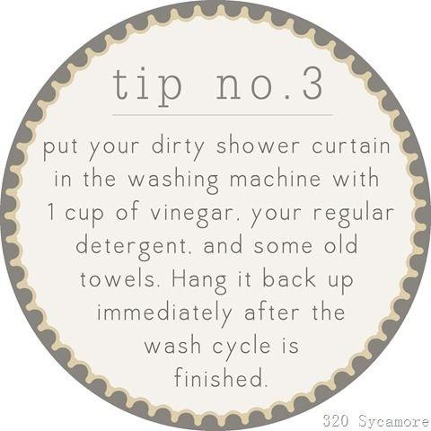 Clean Your Shower Curtain Trusper