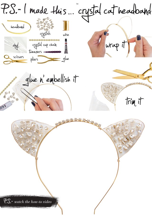 Cute Cat Ears Head Band To Wear To Formal Or Party Occasions! 🐱