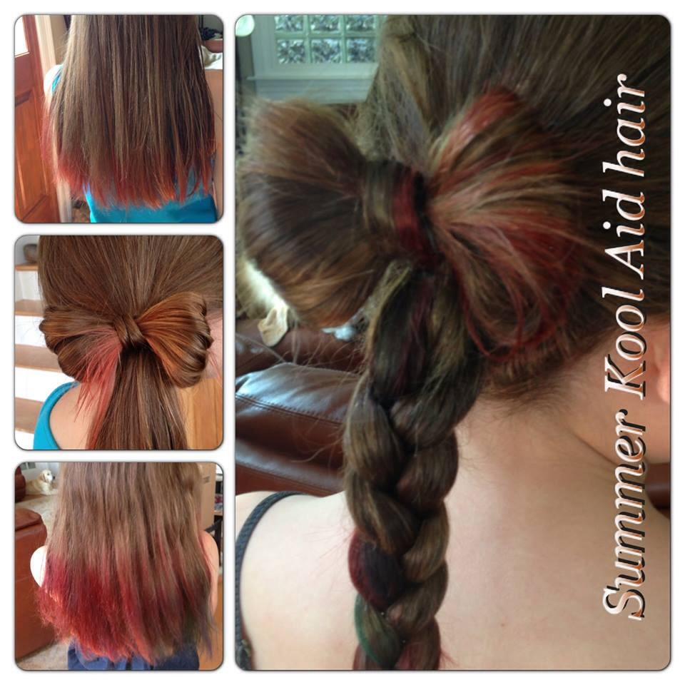 Cool Diy Hair: DIY Cool Aid Hair Dye :)
