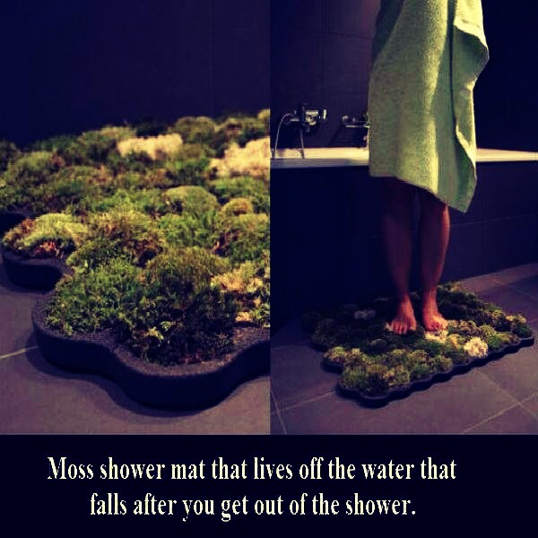 How to make your own organic shower mat on 5 easy steps for Natural moss bath mat