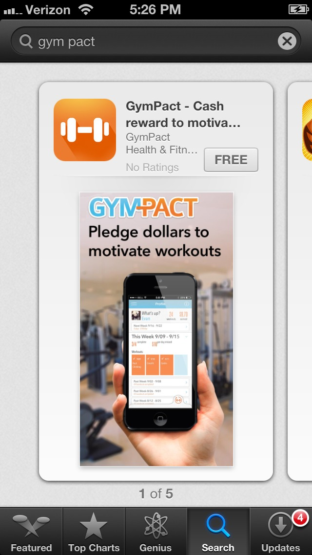 Can't Motivate Yourself To Workout... Check Out This App!!!!