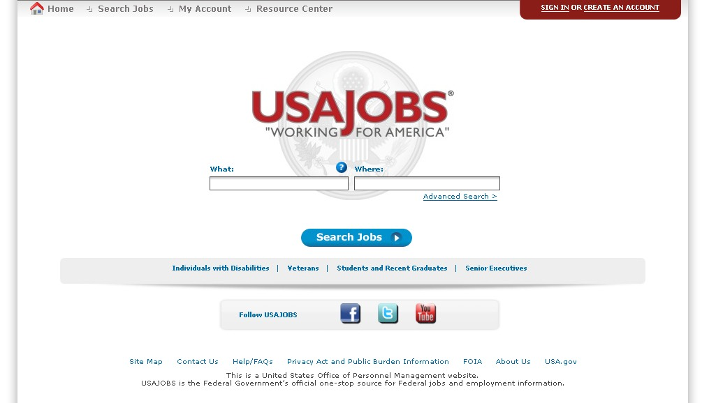 USAJobs: The government's official site for federal jobs and ...