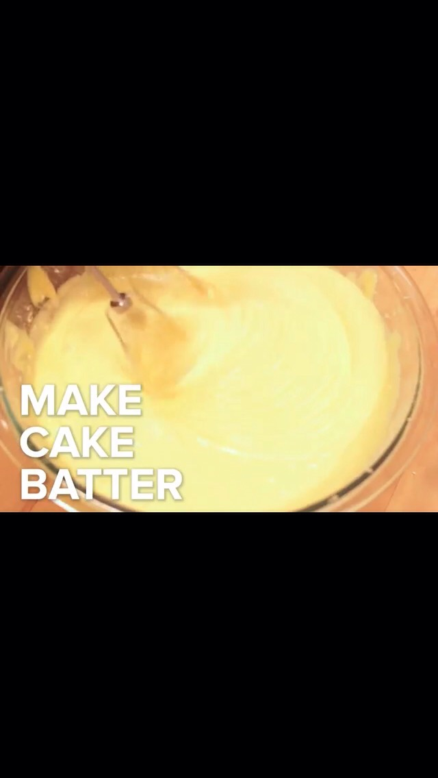 how to bake a cake instructions