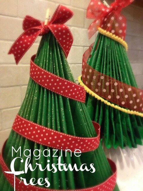 Magazine Christmas Tree #tipit