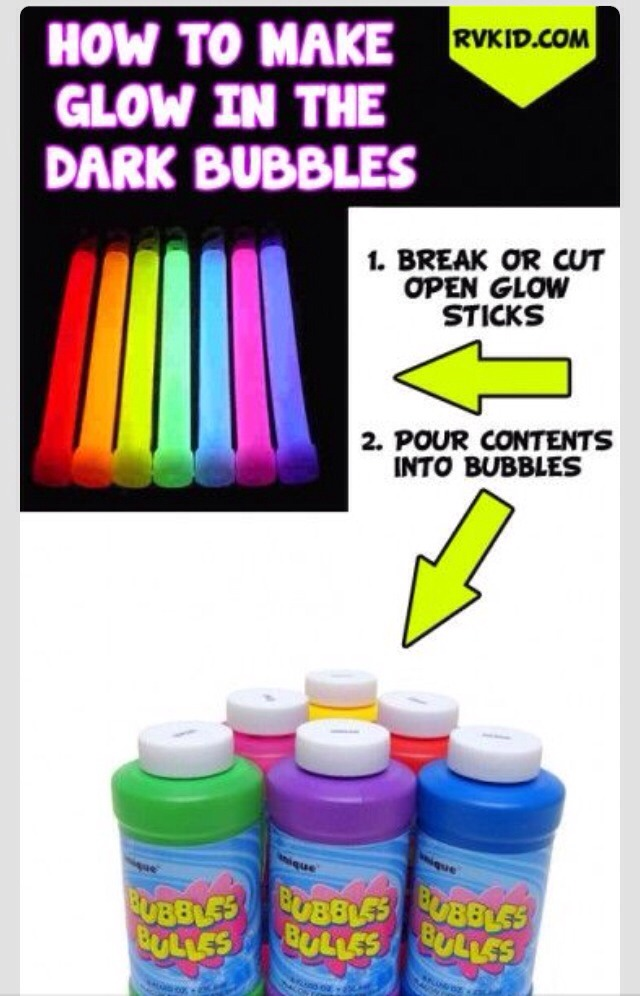 These Glow Stick Life Hacks Will Leave You Enlightened