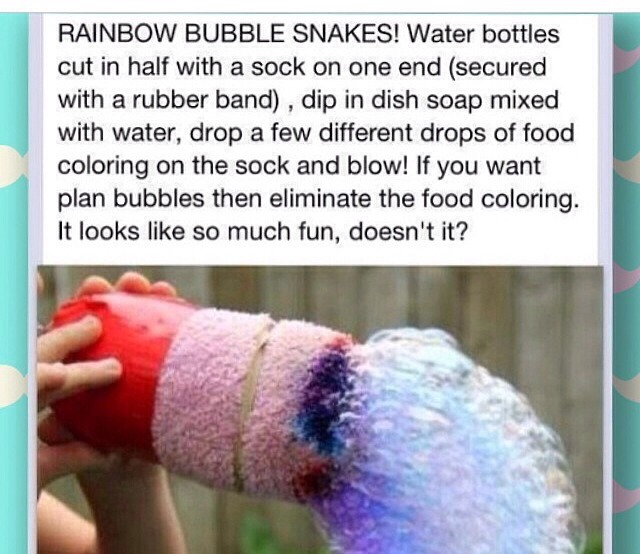 How to make edible water bottle or bubble trusper for How to make a bubble blower from a water bottle