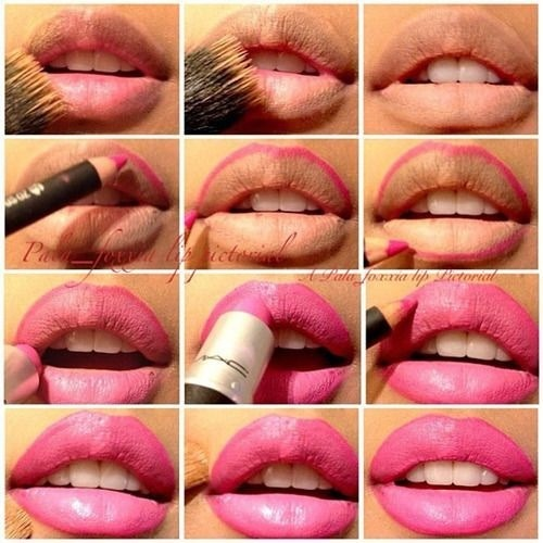 How To Make Your Lips Look Bigger And Perfectly Shaped ...