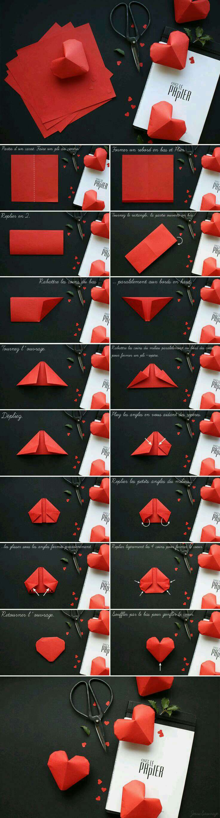 Gorgeous 3D Paper Heart