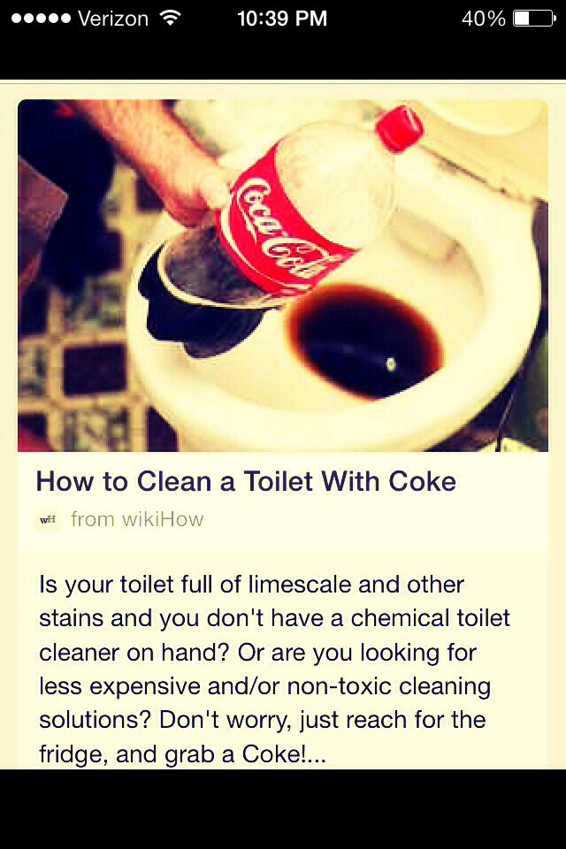 how to get stains off toilet