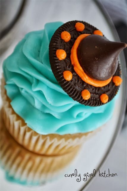 Cute halloween cupcake ideas trusper Cute easy halloween cakes