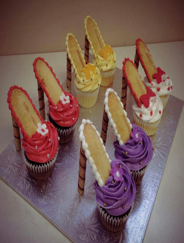 high heel cupcakes trusper