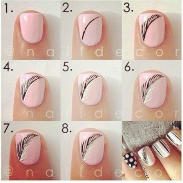 Дизайн ногтей с для начинающих