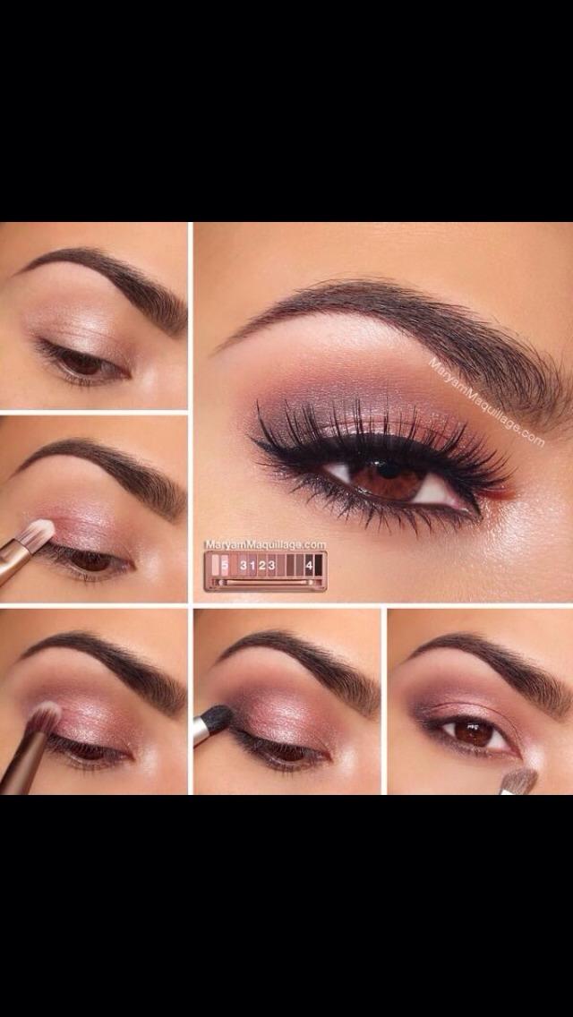 view of eyes makeup - photo #34