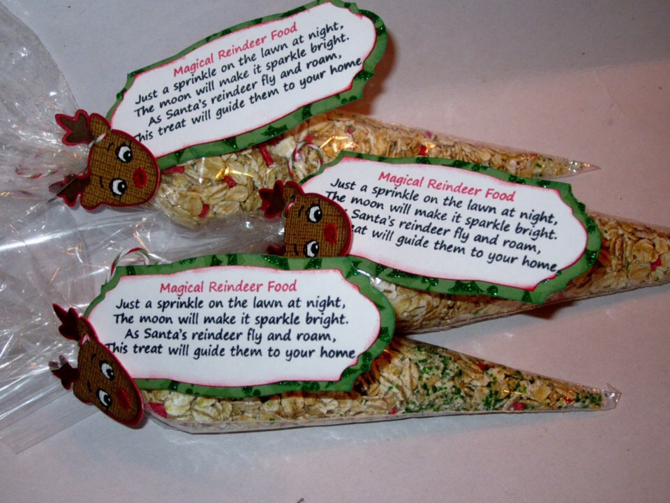 Reindeer Dust Poem Template Magic Reindeer Food Template - Reindeer ...