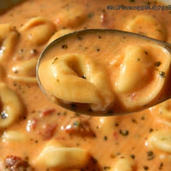 tortellini soup with cream cheese
