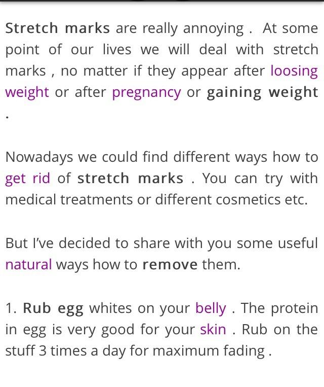 How To Get Rid Of Stretch Mark | Trusper