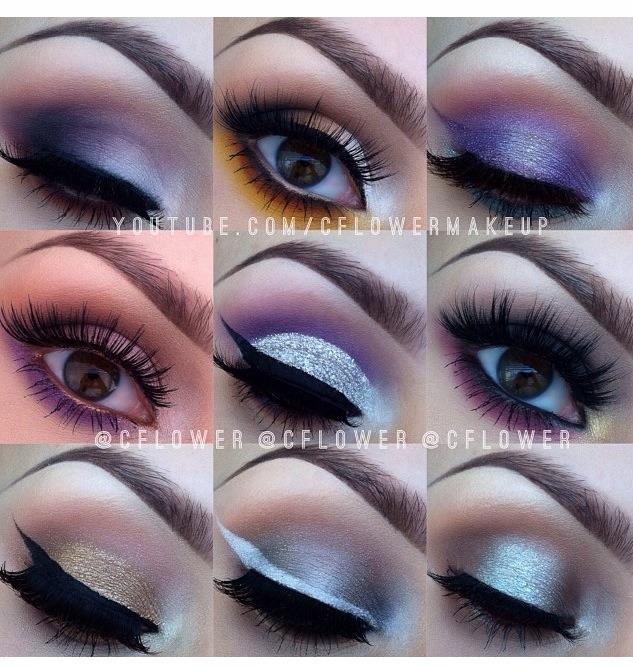 Cute ways to do eye makeup