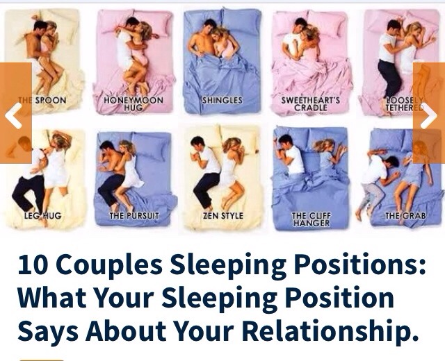 your sleeping position says relationship yahoo