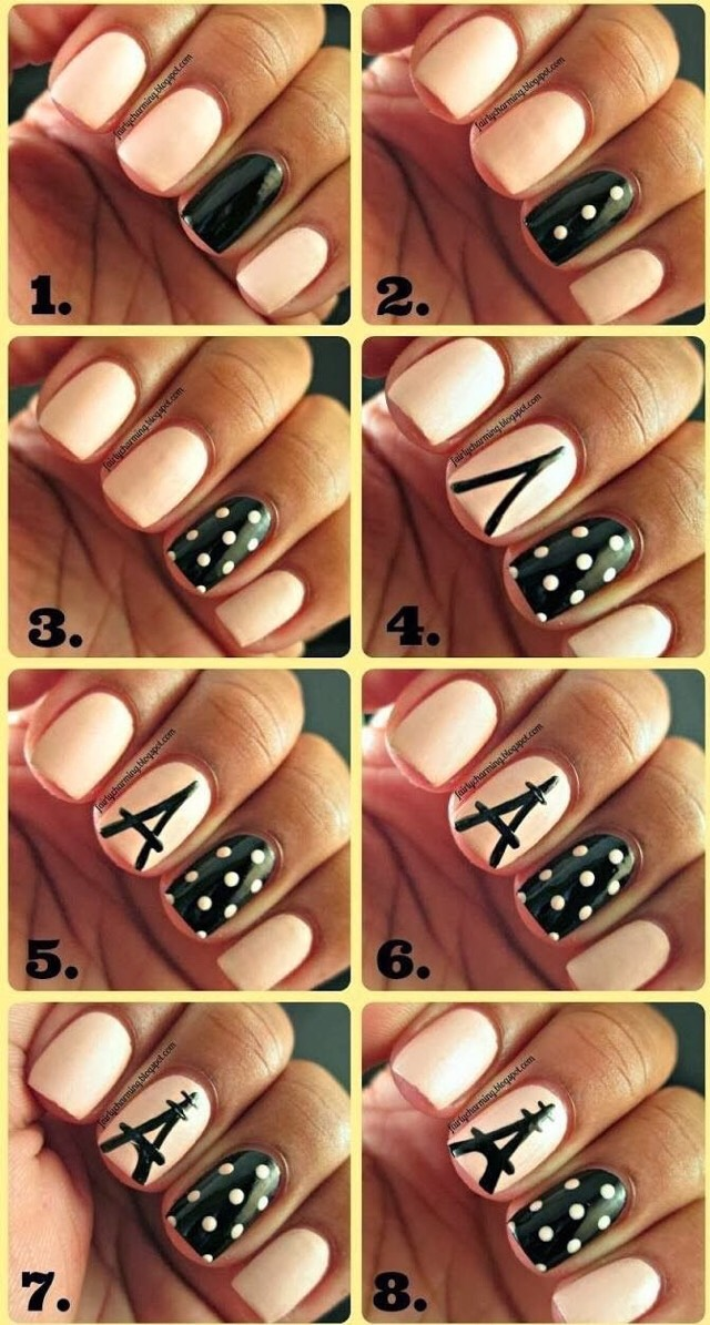 Cute And Easy Nail Designs!