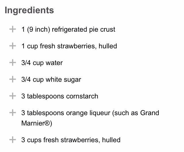 Fresh Strawberry Pie with Orange Liqueur Glaze | Trusper