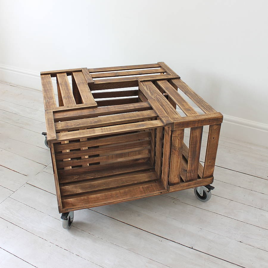 Crate Coffee Table Trusper