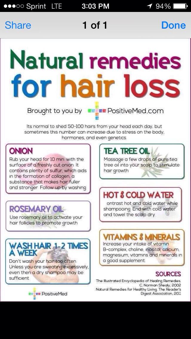 Natural Remedies For Hair Loss Trusper