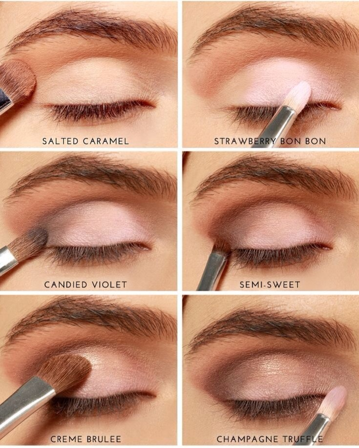 Brown Eyes: Makeup Tutorial Using Too Faced Chocolate Bar ...
