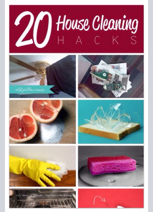 20 Great House Cleaning Hacks💥