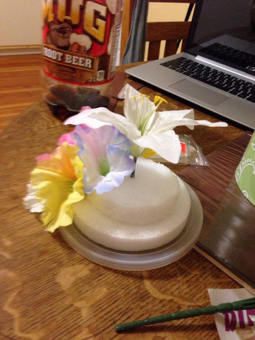 how to make your own flower hair accessories