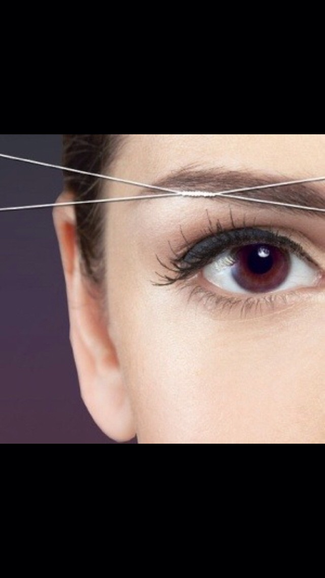 How To DIY Eyebrow Threading- Get Perfect EyeBrows Fast