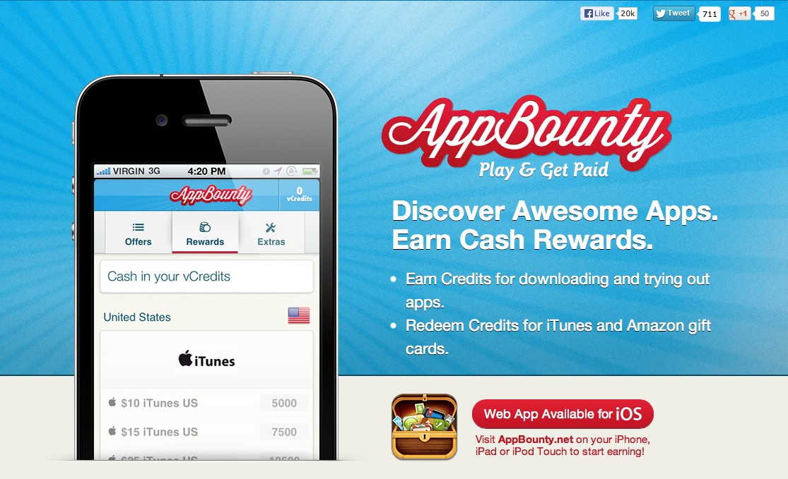 how to use appbounty app