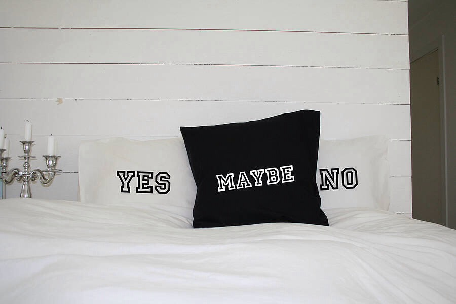 Yes or no sex pillows