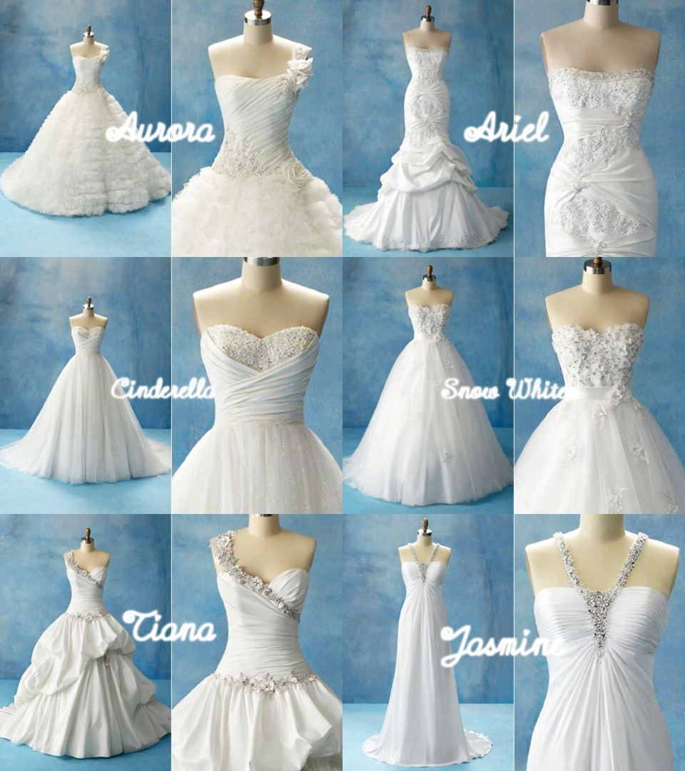 Disney wedding dresses trusper for Wedding dress disney collection