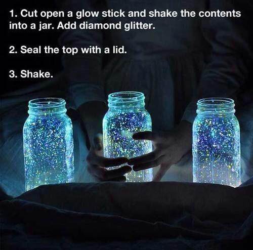 Glowing Jar In 4 Easy Steps! 🌟✨