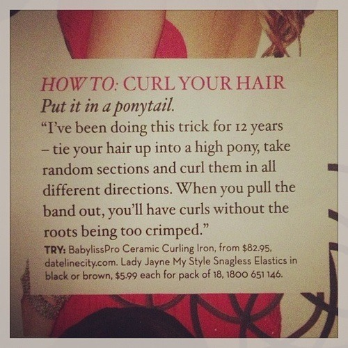 How To Curl Your Hair The Easy Way 😍 Trusper