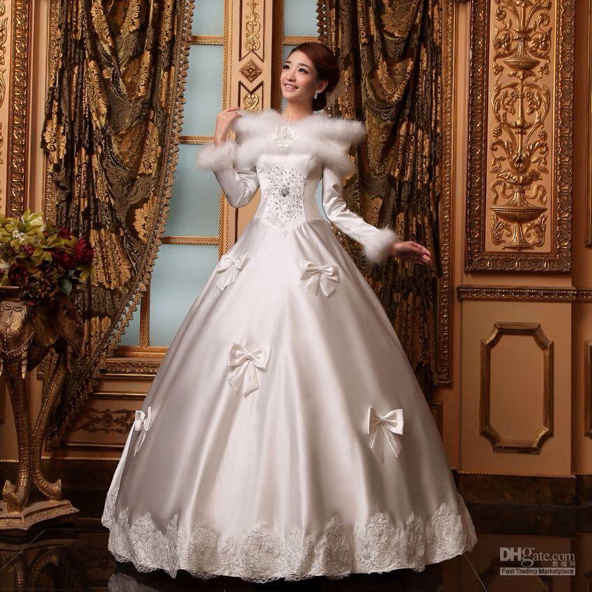 Winter Wonderland Wedding Dresses Trusper