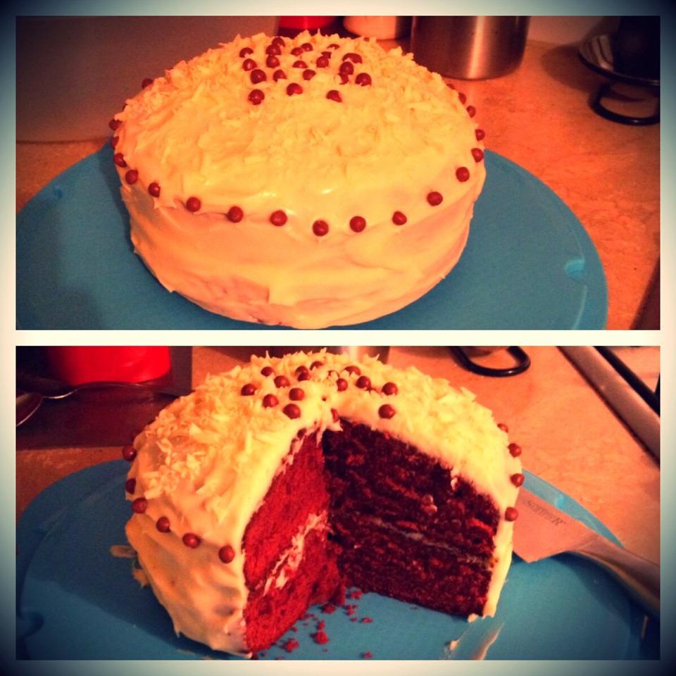 Red Food Colouring Red Velvet Cake