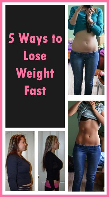 how to lose weight fast bad ways
