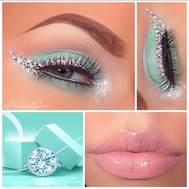 TIFFANY  & CO. Inspired Makeup