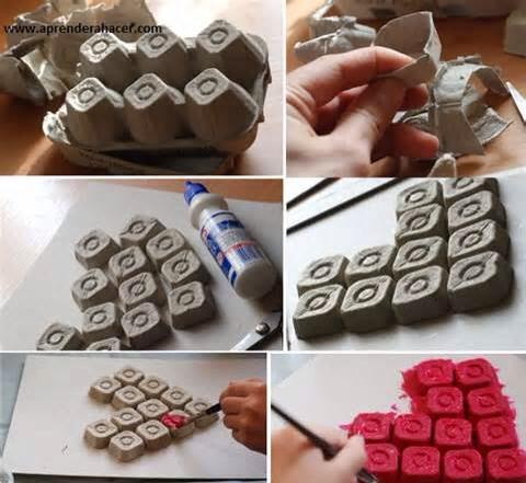 An easy way to decorate trusper - Manualidades de reciclaje faciles paso a paso ...