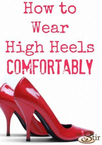 5 Tricks To Wearing High Heels Without Pain
