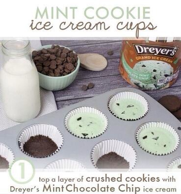 3 Steps To Make Mint Cookies From Icecream