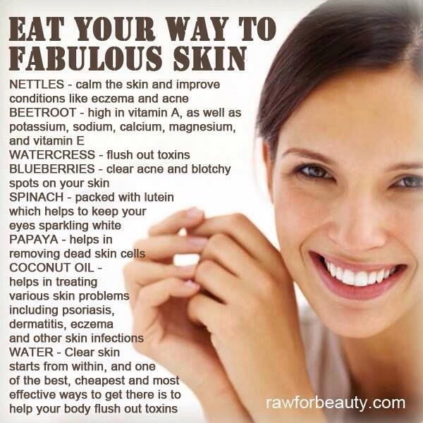 Eat Your Way to Clear Skin