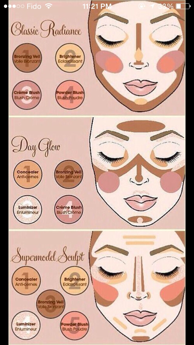 Different Ways To Contour Your Face Step By Step