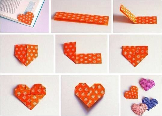 Cute Heart Bookmark