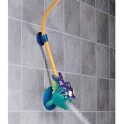 A perfect sized mini shower for kids trusper for Childrens shower head